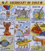 Bothy Threads/XD04 A Dictionary of Dogs На Заказ!