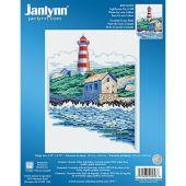 """Janlynn""  023-0598""Lighthouse on a Hill"""